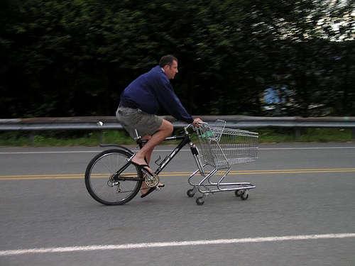 買い物ラクチン自転車