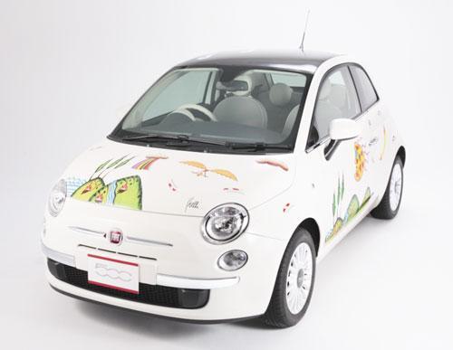 FIAT 500 eco-art