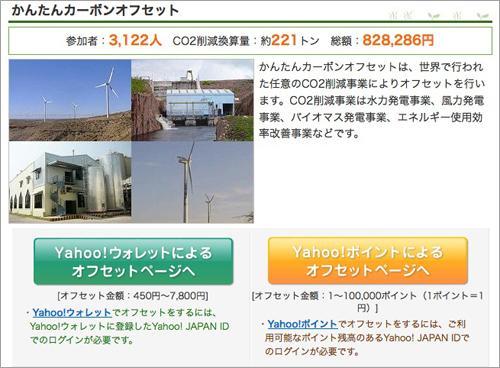 greenz/グリーンズ Yahoo!カーボンオフセット