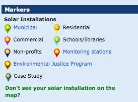 greenz/グリーンズ ソーラーパワーマップ