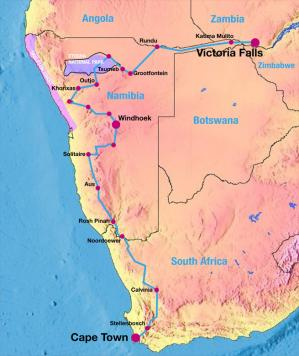 greenz/グリーンズ ZERO RALLY AFRICA MAP