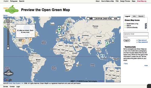 greenz/グリーンズ greenmap