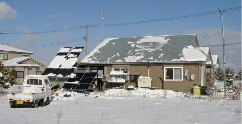 greenz/グリーンズ 太陽光と風力発電を備えた家
