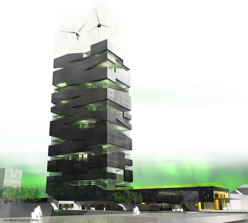 Vertical Farm: Copyright(C)2009 The Vertical Farm Project All rights reserved. (The Vertical Farm Projectホームページより抜粋)