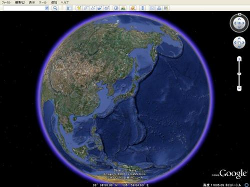 Google Earthキャプチャ画像