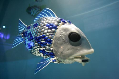 Robotic Fish:  Copyright (c) 2009 UPPA. All Rights Reserved.