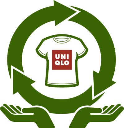 greenz/グリーンズ uniclo_recyclelogo