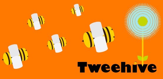 Tweehive Logo: Copyright (c) 2009 Tweehive.com, All Rights Reserved.