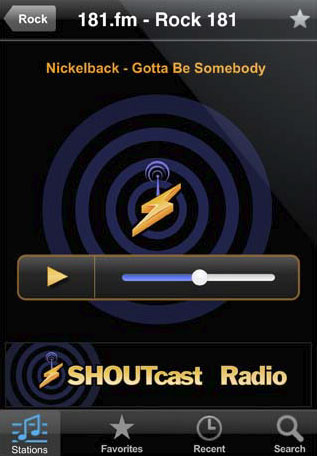 greenz.jp グリーンズ SHOUTcast iPhone