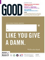 GOOD magazine issue 01