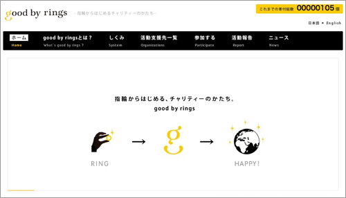 greenz/グリーンズ good by rings