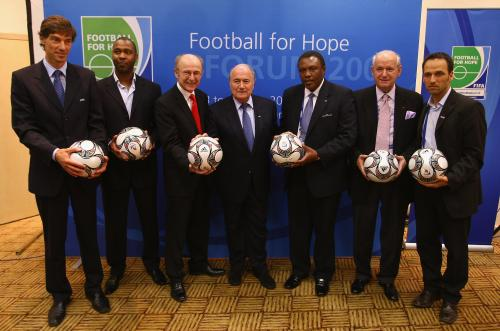 Football for Hope: Copyright(C)2010 FIFA/ FIFA via Getty Images, All rights reserved.
