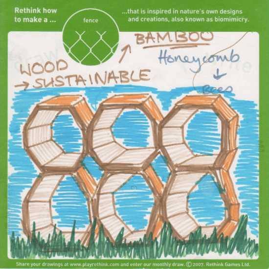 Bamboo honeycombe: Copyright(C)2010 Rethink Games, All rights reserved.