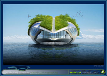 greenz/グリーンズ 持続可能な水上都市コンセプトphysalia4