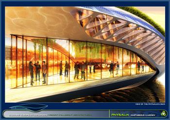 greenz/グリーンズ 持続可能な水上都市コンセプトphysalia5