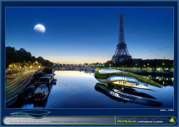 greenz/グリーンズ 持続可能な水上都市コンセプトphysalia8