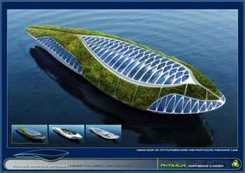 greenz/グリーンズ 持続可能な水上都市コンセプトphysalia2