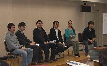 (左から)猪尾さん 関口さん 山田さん 一色さん 吉岡さん 井上さん