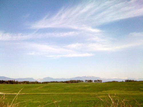 北海道?いえいえ北軽井沢の浅間牧場です