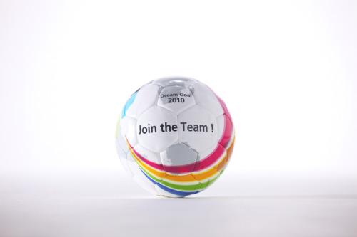 開発されたボールは「世界を変えるデザイン展」アクシスギャラリーでも展示中!