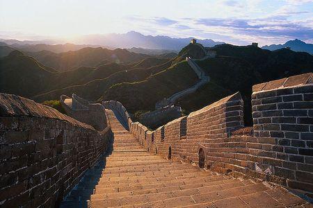 レンガが使われた歴史的建造物といえば、万里の長城ですね。 Photo by topgold