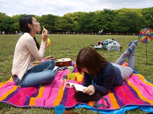 都会の公園でキャンプをしよう! 東京キャンプ&ピクニックプロデューサークラス