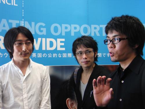2等「Energy Literacy Platform」石橋秀一さん(左)