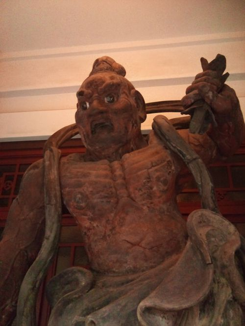 大倉集古館のお仁王様