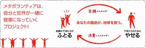 メタボランティアの仕組み