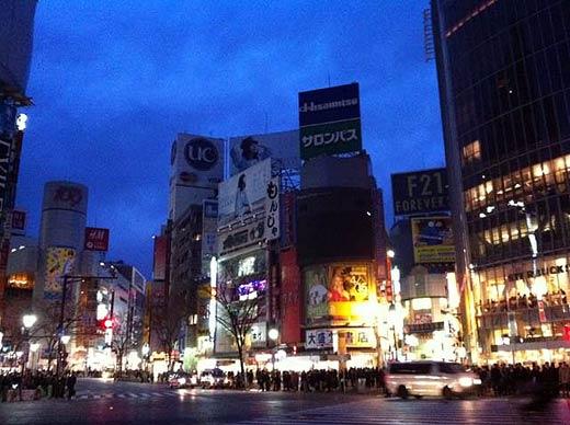 3月17日の渋谷 photo by essentiallightjp