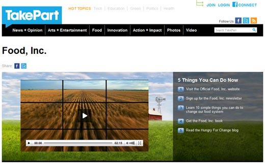 greenz/グリーンズ takepart.com Food Inc.