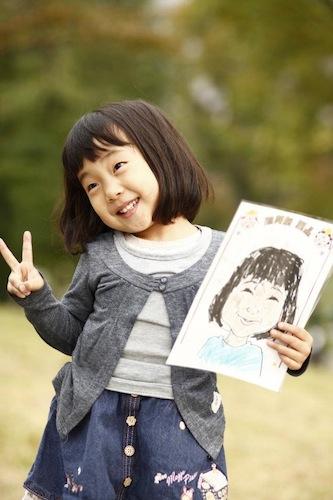 「似顔絵屋永晶(似顔絵ぬり絵)」by アザイコミュニケーションズ