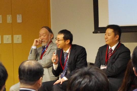 「遊びのツイートができない」と語る陸前高田市副市長の久保田さん