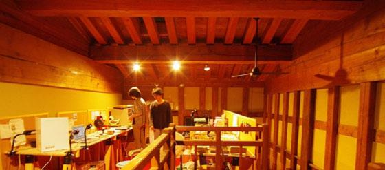 ファブラボ鎌倉内部   Photo by Mikiya Sasaki