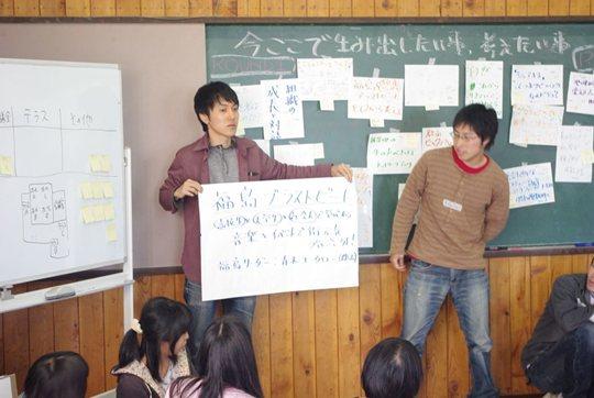 ユースコミュニティリーダー・ダイアログで「ブラストビート福島」が生まれた瞬間