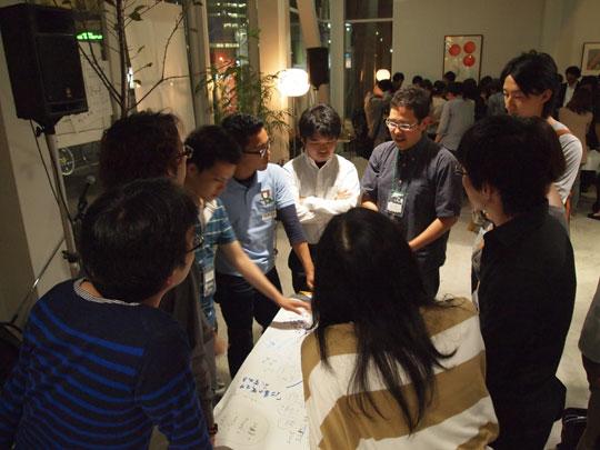 greenz/グリーンズ green drinks tokyo 2012 6 ワーキング1