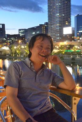 川床設計などの技術的な分野を担当している松本拓さん。