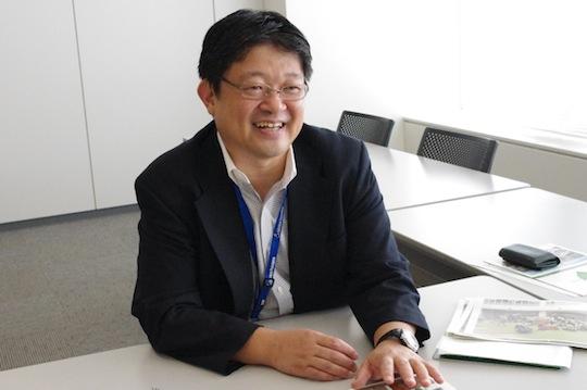 三井不動産株式会社 環境推進室 齋藤耕太郎さん