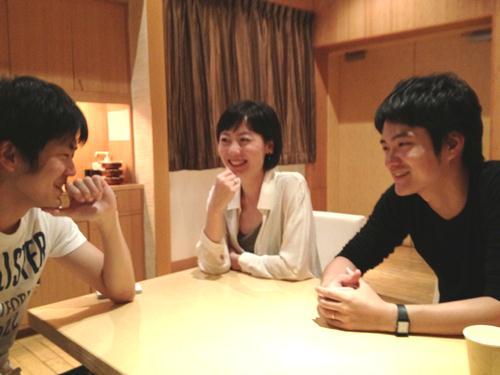 成田さん(左)、浅田さん(中央)、高野さん(右)
