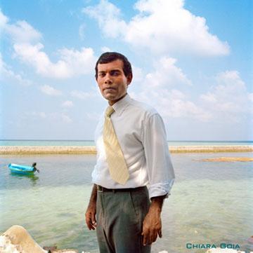 『南の島の大統領―沈みゆくモルディヴ』 &copyl2011 AfterImage Public Media