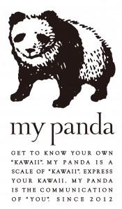 my pandaのロゴ。