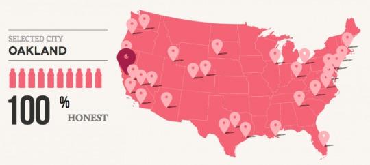 地域毎にデータが集計されています。