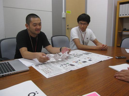 企画をされた高橋孝治さん(左)と広報を担当されている小塚文成さん(右)