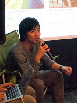 greenz/グリーンズ greendrinksTokyo 201212 原田謙介さん
