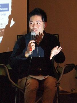 greenz/グリーンズ greendrinksTokyo201212 横尾俊成さん