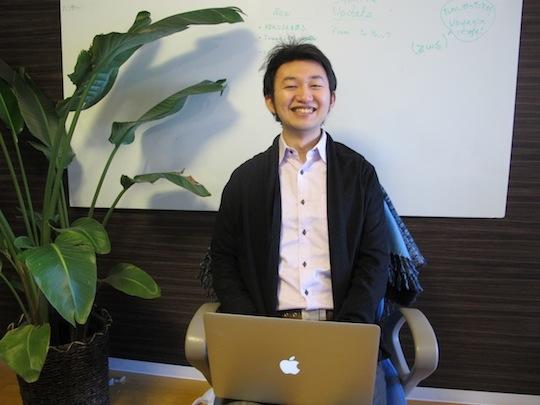 Voyaginを運営するエンターテイメント・キック株式会社代表の高橋理志さん