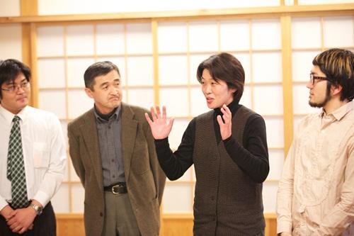 右から2番目が北里さん。 (c) Ryo Shimomura
