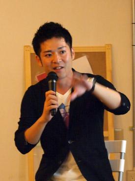 横尾俊成さん