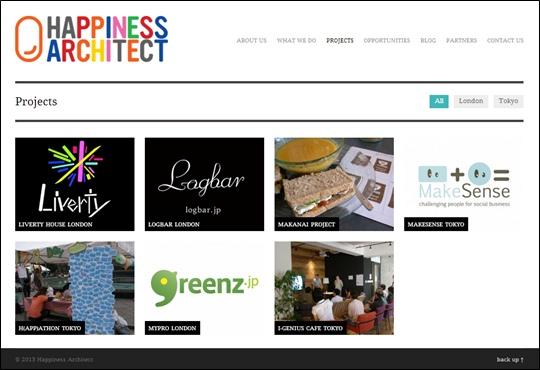 タイチさんがCEOを務めるコラボレーションデザインエージェンシー「Happiness Architect」