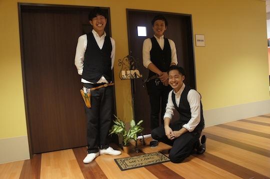 左から株式会社「un.」の最高執行責任者櫻庭さん、代表取締役湯浅さん、スタッフ星野さん